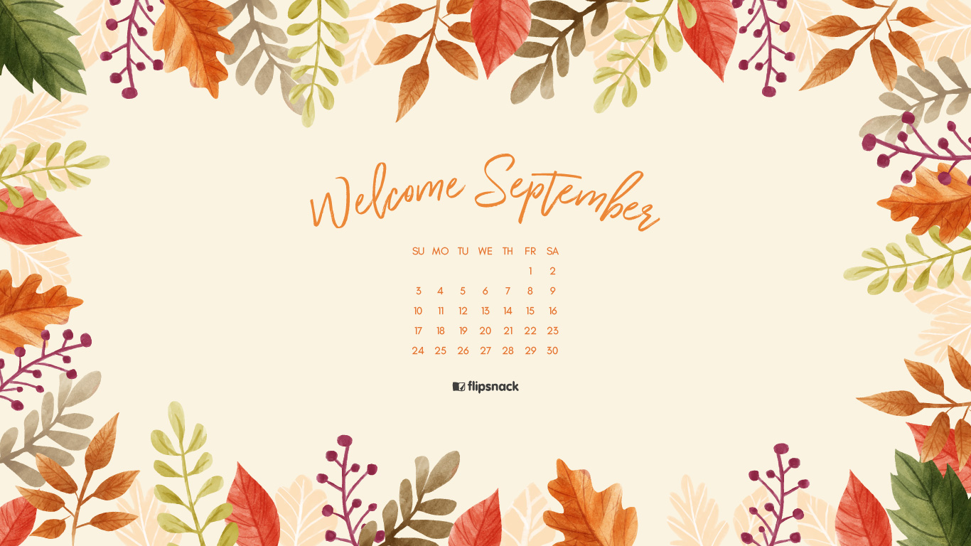 Wallpaper download 2017 - September 2017 Wallpaper Download Calendar 1920 1080